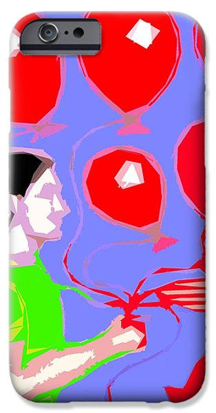 WELCOME TO MY PARTY iPhone Case by Patrick J Murphy