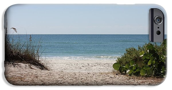 Gulf Of Mexico iPhone Cases - Welcome to the Beach iPhone Case by Carol Groenen