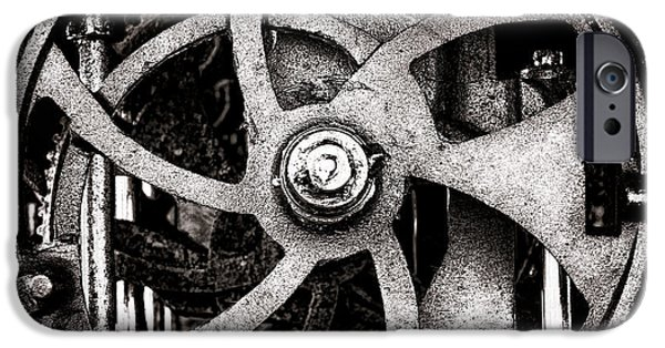 Machinery iPhone Cases - Welcome to the Machine iPhone Case by Olivier Le Queinec