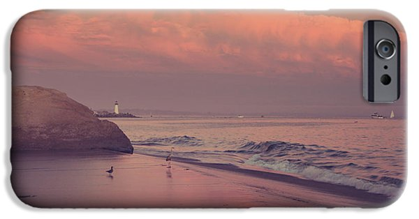 Santa Cruz Ca iPhone Cases - Well Just Sit Here For a While iPhone Case by Laurie Search