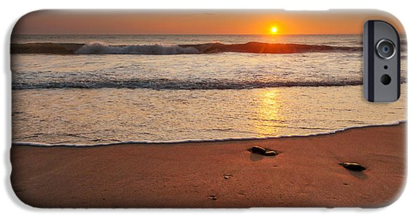 Cape Cod Landscapes iPhone Cases - Wellfleet Sunrise iPhone Case by Bill  Wakeley