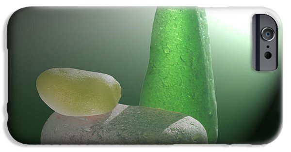 Sea Glass Art iPhone Cases - Wellspring iPhone Case by Barbara McMahon