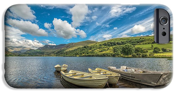 Boats iPhone Cases - Welsh Boats iPhone Case by Adrian Evans
