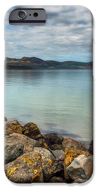 Welsh Coast iPhone Case by Adrian Evans