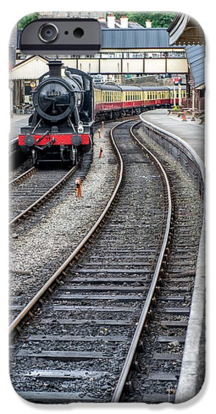Steam Locomotive iPhone Cases - Welsh Railway iPhone Case by Adrian Evans