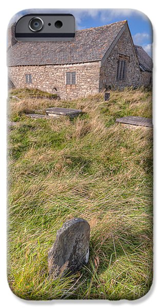 Welsh Tombs iPhone Case by Adrian Evans