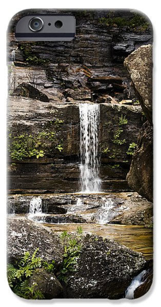 Smithsonian iPhone Cases - Wentworth Falls iPhone Case by Joe Wigdahl