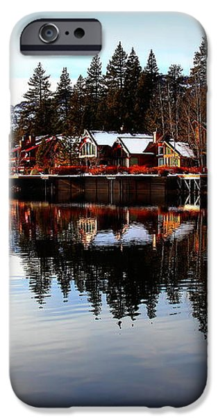 West End of Donner Lake iPhone Case by Garrett Nyland