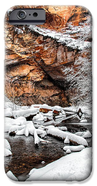 West Fork iPhone Cases - West Fork Dream iPhone Case by Larry Pollock