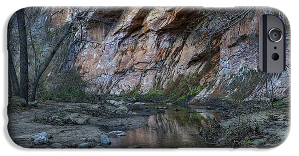 West Fork iPhone Cases - West Fork iPhone Case by Sue Cullumber