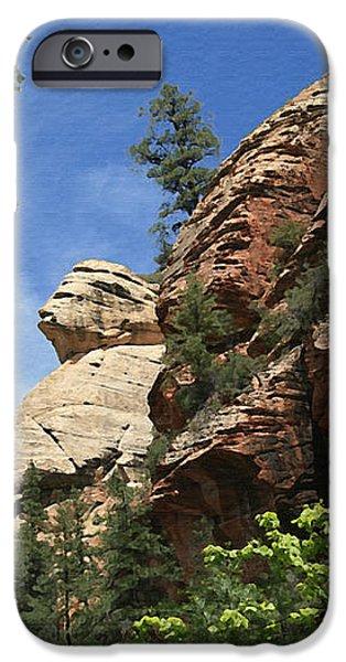 West Fork Trail iPhone Case by Ellen Henneke