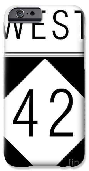 West NC 42 iPhone Case by Paulette B Wright