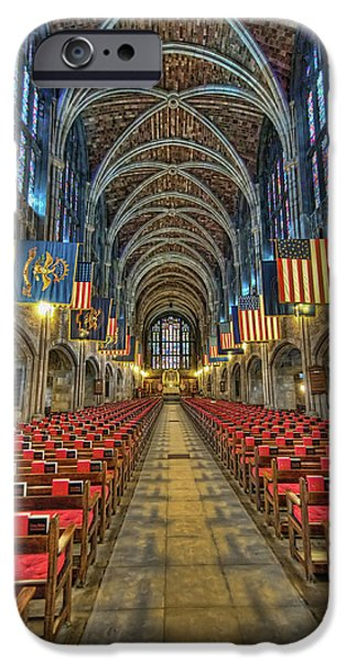 West iPhone Cases - West Point Cadet Chapel iPhone Case by Dan McManus