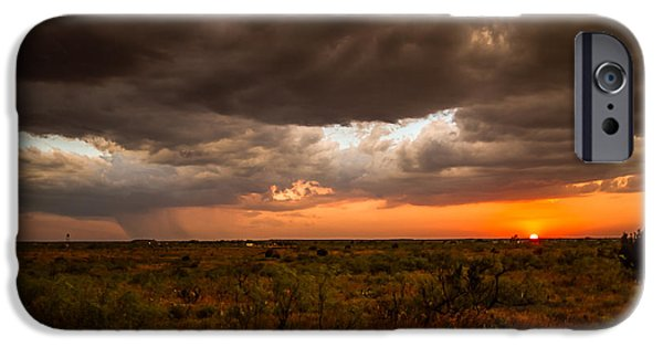 Recently Sold -  - Raining iPhone Cases - West Texas iPhone Case by Sean Ramsey