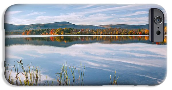 Southern New England iPhone Cases - West Twin Lake iPhone Case by Bill  Wakeley