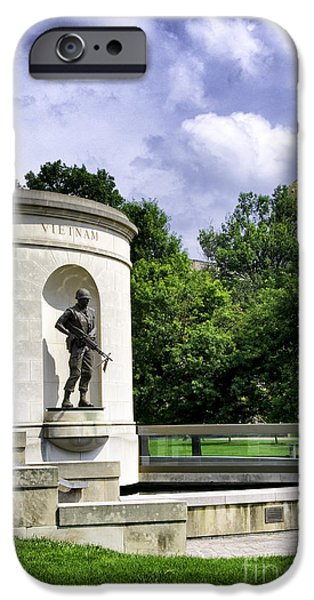 Of Power iPhone Cases - West Virginia War Memorial iPhone Case by Thomas R Fletcher