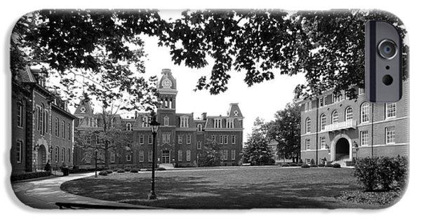 Land-grant iPhone Cases - West Viriginia University Woodburn Circle iPhone Case by University Icons