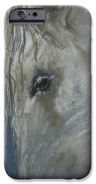 The Horse Pastels iPhone Cases - Western Dreamer iPhone Case by Cori Solomon