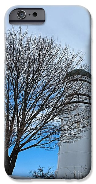 Winter In Maine iPhone Cases - Western Light_9819 iPhone Case by Joseph Marquis