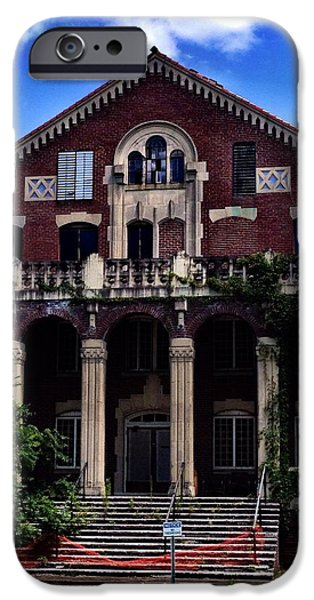 Architectur iPhone Cases - Western State Mental Facility #1 iPhone Case by Penny King-Clark