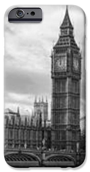 Westminster Panorama iPhone Case by Heather Applegate