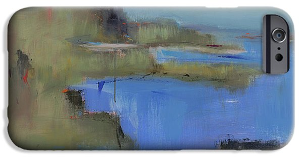 Beach Landscape iPhone Cases - Westport River iPhone Case by Jacquie Gouveia