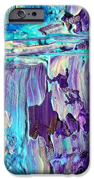 Colorful Abstract iPhone Cases - Wet Paint 104 iPhone Case by Jacqueline Athmann