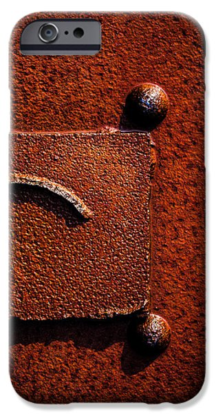 Wet Rust iPhone Case by Bob Orsillo