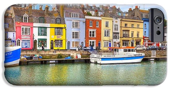 Historic England iPhone Cases - Weymouth iPhone Case by Joana Kruse