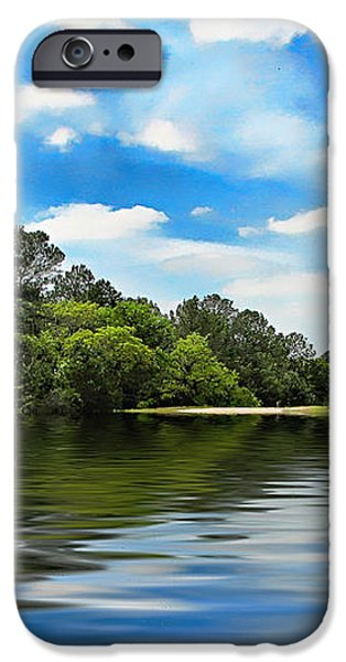 What I Remember About That Day on the River iPhone Case by Wendy J St Christopher