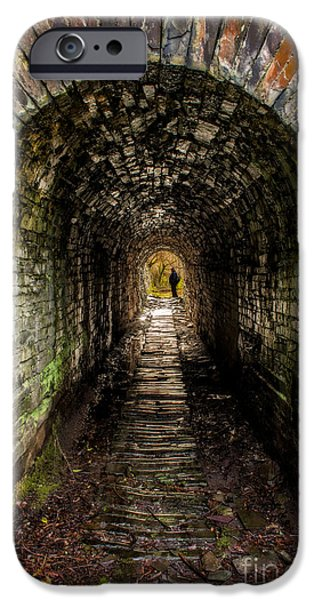 Ruins iPhone Cases - What Lies Ahead iPhone Case by Adrian Evans