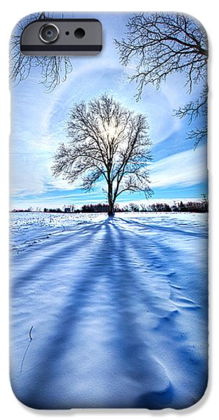 Crops iPhone Cases - What Lies Beneath iPhone Case by Phil Koch