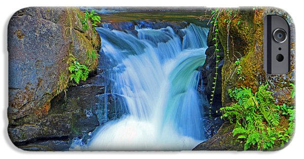 Recently Sold -  - Creek iPhone Cases - Whatcom Small Falls iPhone Case by Brad Walters