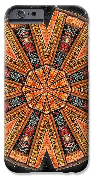Wheel In The Sky iPhone Case by Wendy J St Christopher