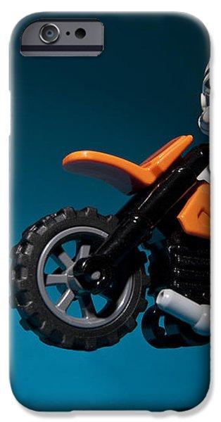 Wheelie iPhone Case by Samuel Whitton