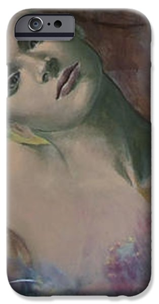 When a dream has colored wings iPhone Case by Dorina  Costras