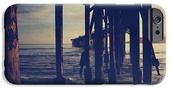 Pier Digital Art iPhone Cases - When Anything Seems Possible iPhone Case by Laurie Search