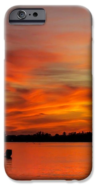 WHEN GOD PAINTS iPhone Case by KAREN WILES