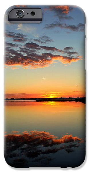 WHEN HEAVEN BLANKETS the EARTH iPhone Case by KAREN WILES