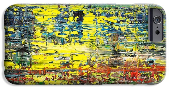 Recently Sold -  - Abstract Expressionist iPhone Cases - When The Wind Blows iPhone Case by Derek Kaplan