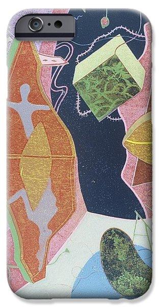 Culture Reliefs iPhone Cases - Where Dreams Meet iPhone Case by Francisco Gonzalez