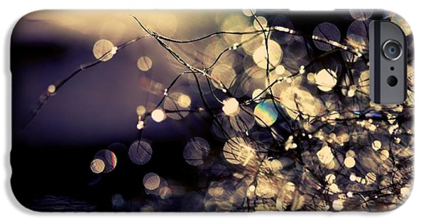 Abstracts From Nature iPhone Cases - Where fairies dream. iPhone Case by Beata  Czyzowska Young