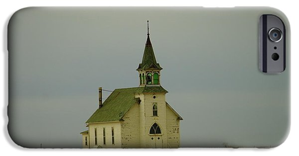 Wooden Building iPhone Cases - Where Faith Made Us Whole iPhone Case by Jeff  Swan