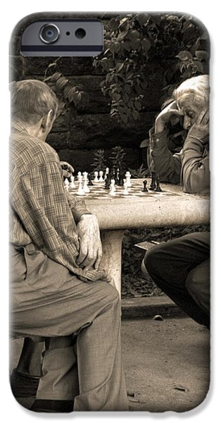 Where Is Bobby Fischer iPhone Case by Madeline Ellis