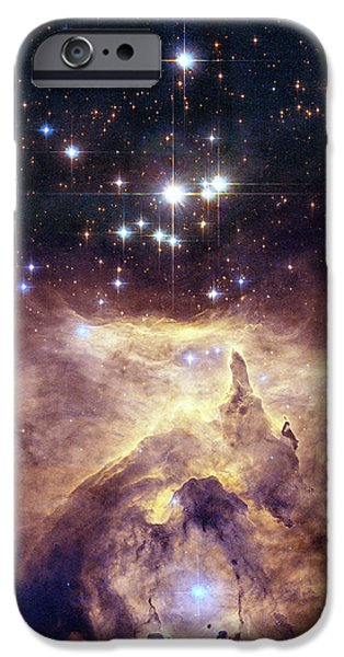 Constellations iPhone Cases - Where it all Started iPhone Case by Nomad Art And  Design