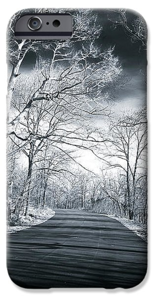 Where the Road Leads iPhone Case by John Rizzuto