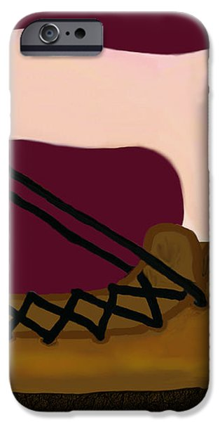 Where There's A Will iPhone Case by Elizabeth S Zulauf