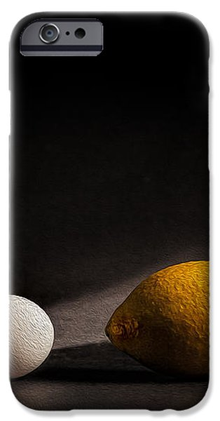 Which Came First iPhone Case by Peter Tellone