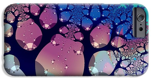 Anastasiya Mixed Media iPhone Cases - Whimsical Forest iPhone Case by Anastasiya Malakhova