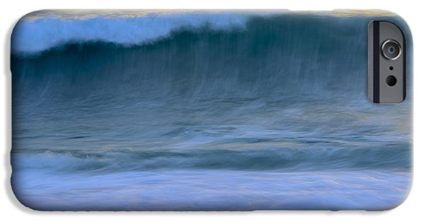 Furniture iPhone Cases - Whisper of the Waves iPhone Case by Amanda Sinco
